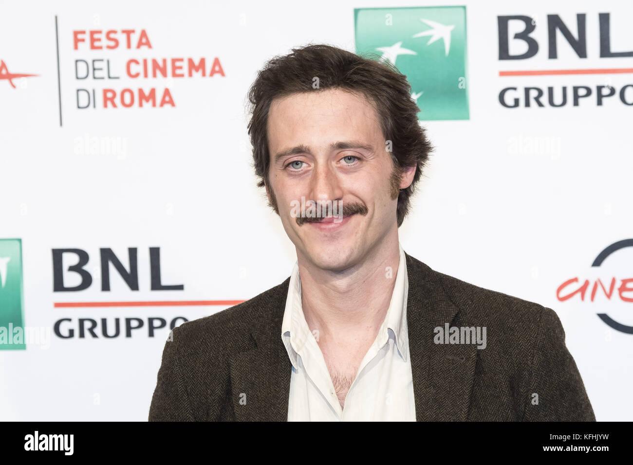 Rome, Italy. 29th Oct, 2017. Photocall of Metti una notte at Rome FIlm Festival 2017 Credit: Silvia Gerbino/Alamy - Stock Image
