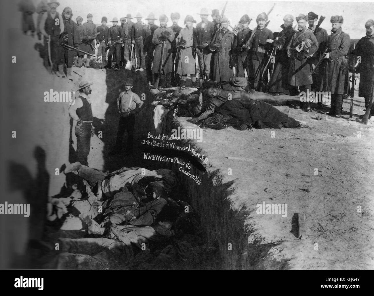 the wounded knee massacre The intermittent war between the united states and the plains indians that stretched across some three decades after the civil war came to an end on december 29, 1890, at the pine ridge reservation in south dakota the events leading up to its final act — the wounded knee massacre — had been.