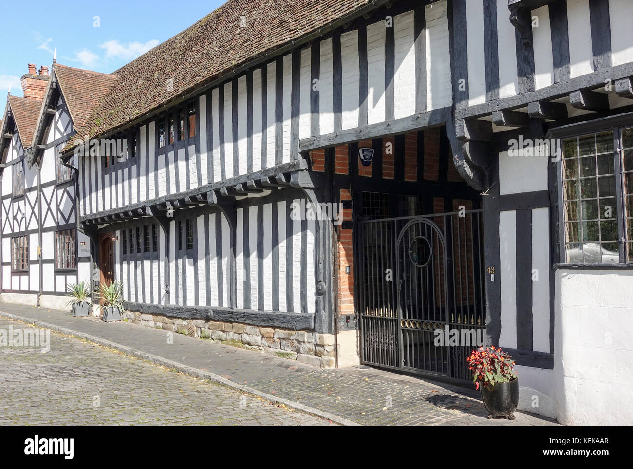 Mill Street, Warwick - Stock Image