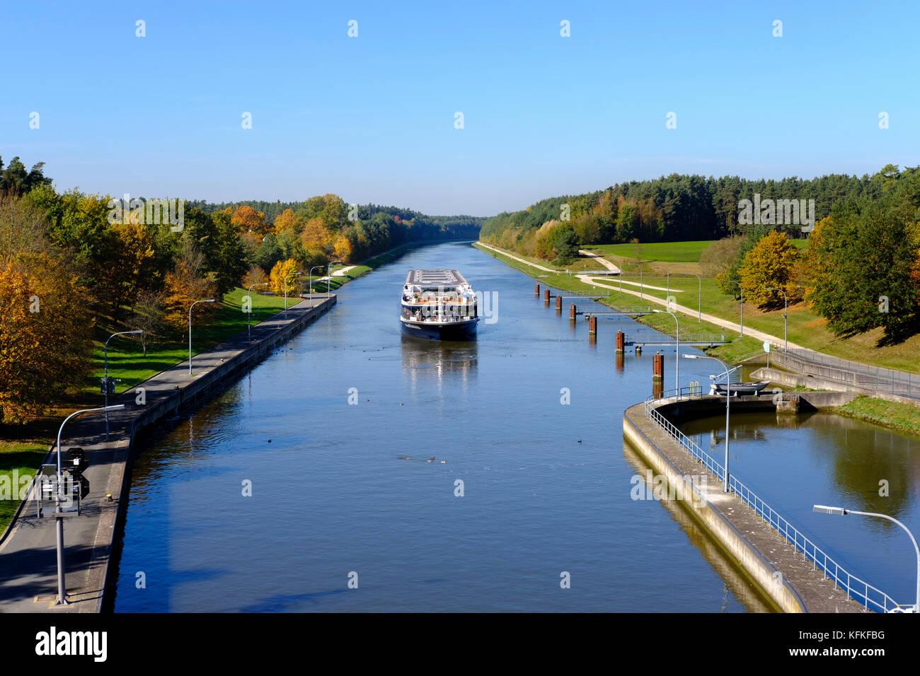 Canal cruise danube