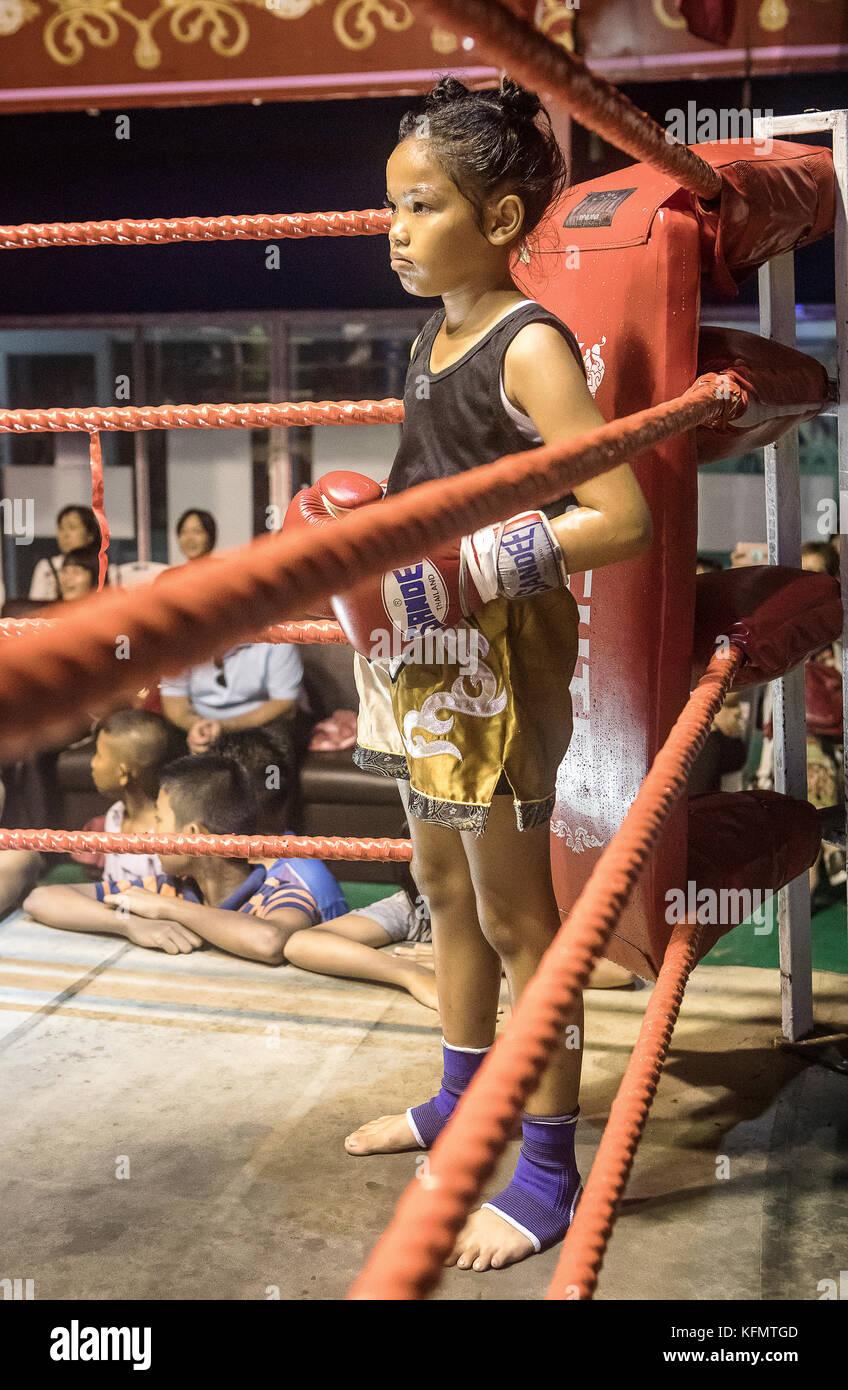Thai Boxer Stock Photos & Thai Boxer Stock Images