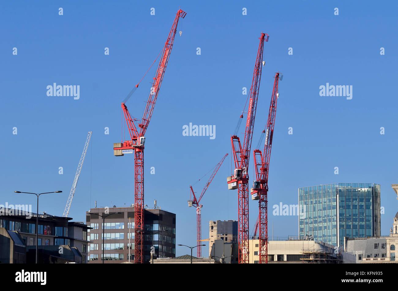 Tower Cranes London St...