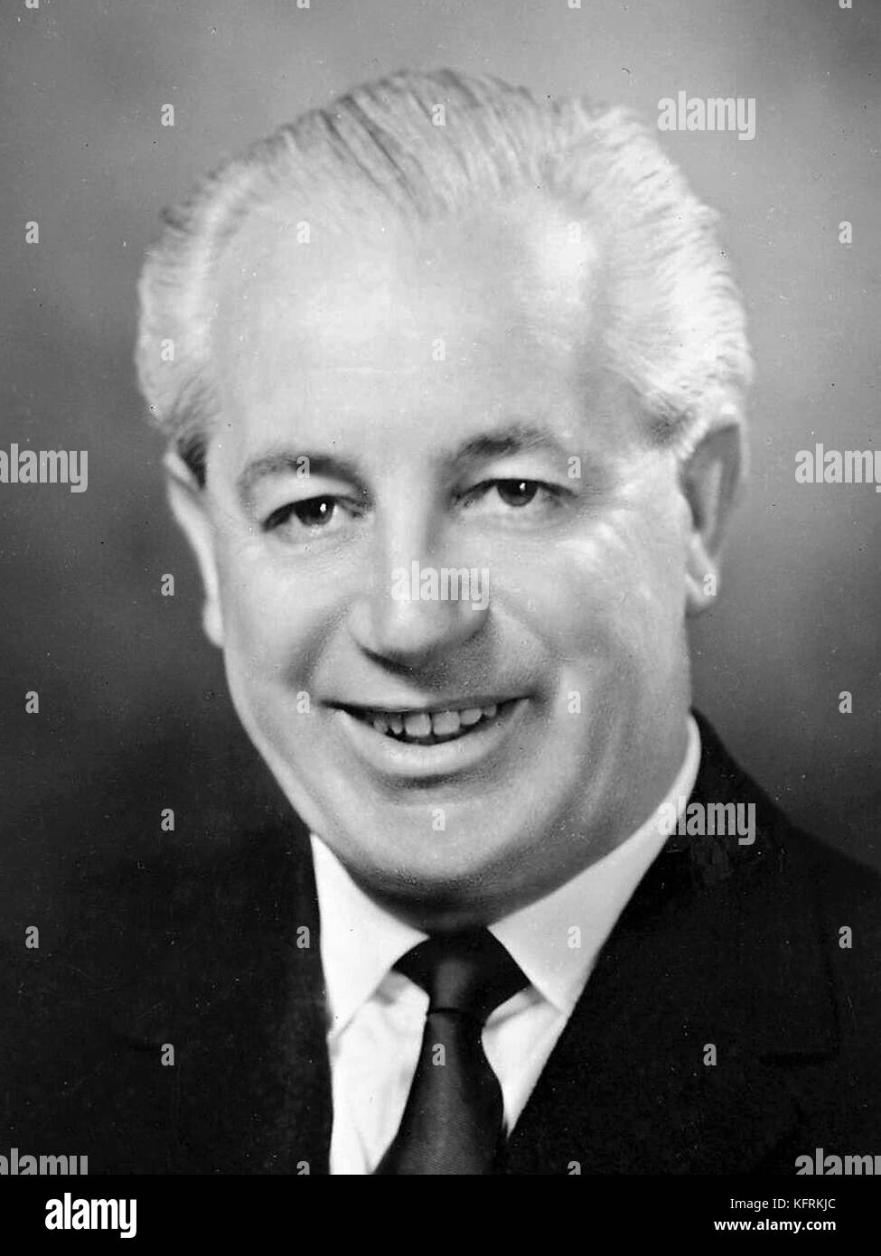 Harold Edward Holt, Australian politician and 17th Prime Minister of Australia - Stock Image