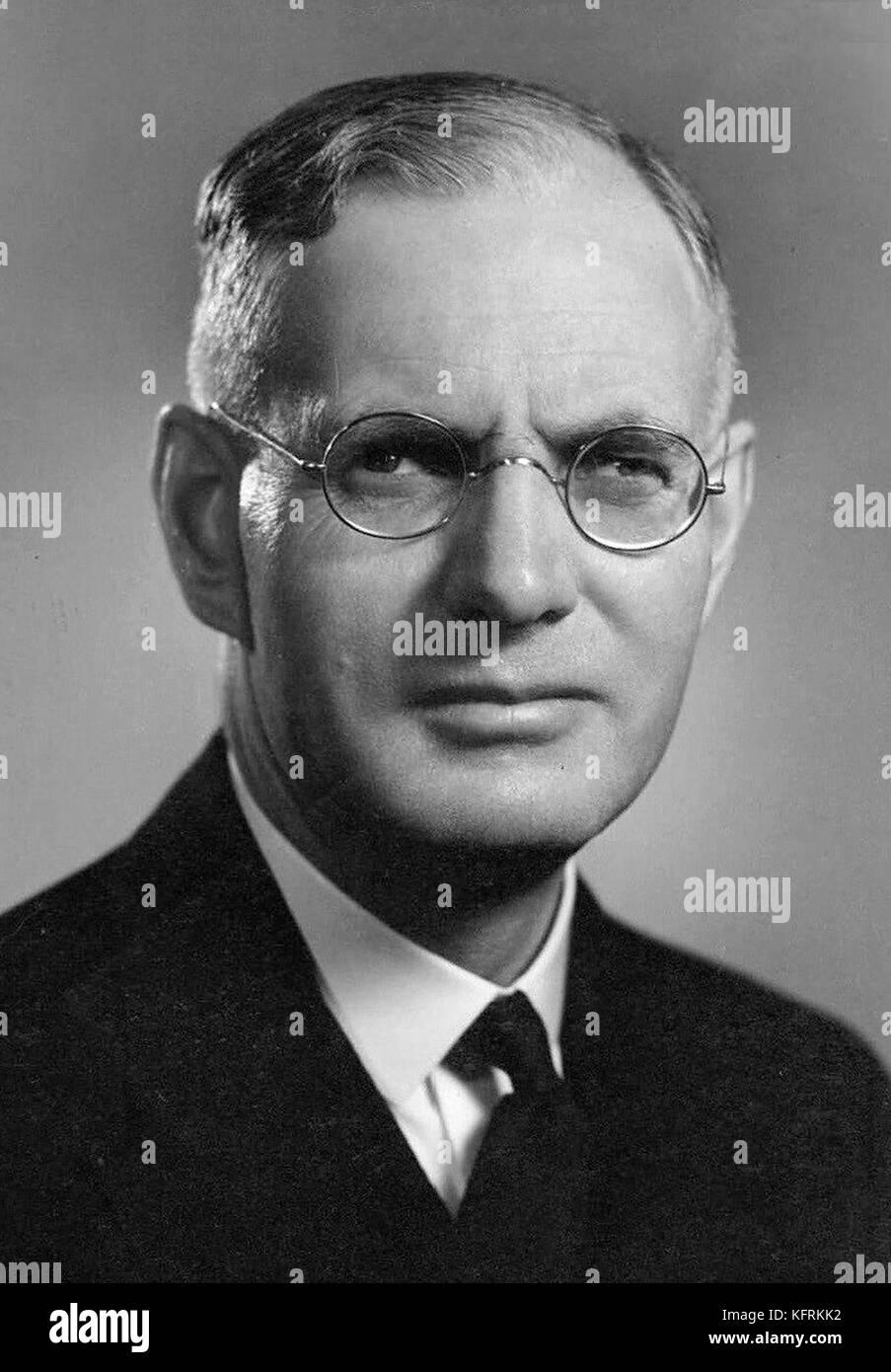 John Joseph Ambrose Curtin, 14th Prime Minister of Australia - Stock Image