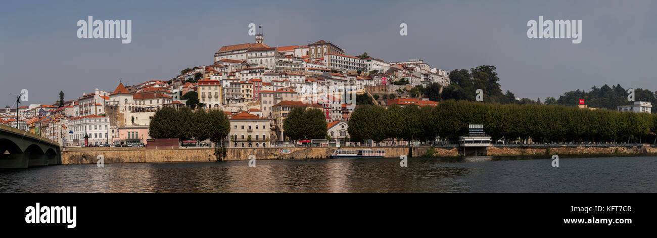 Panorama of Coimbra, Portugal - Stock Image
