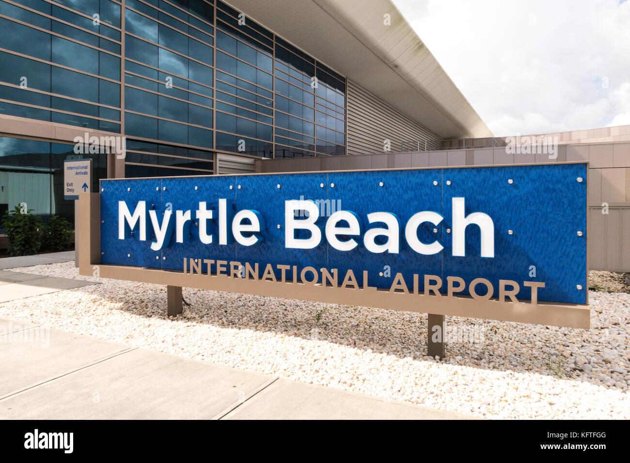 Departures Myrtle Beach Airport