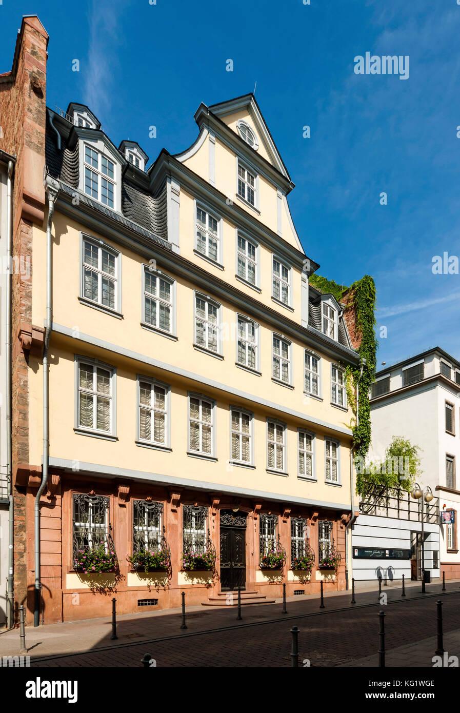 Goethe Haus Stock s & Goethe Haus Stock Alamy