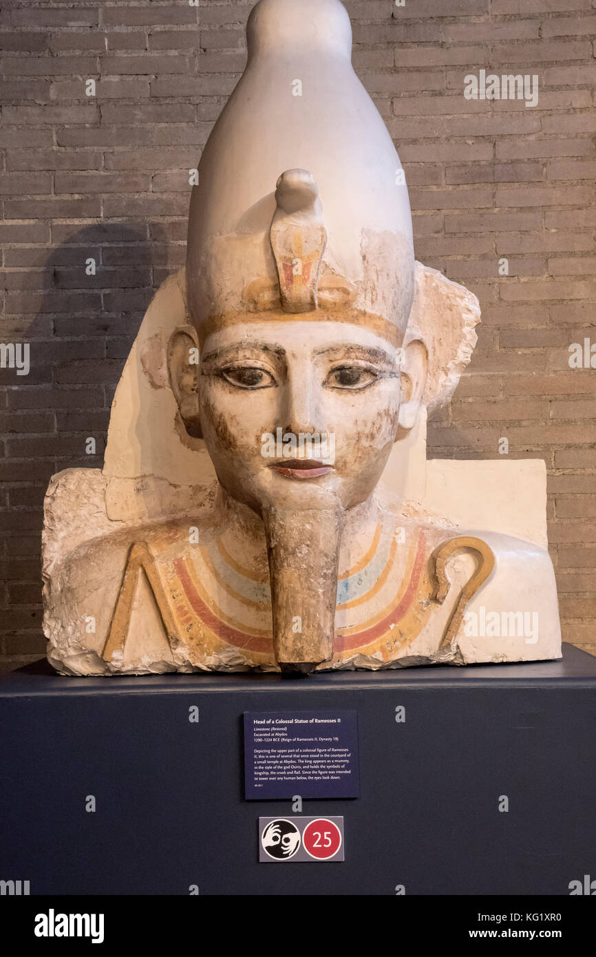 an analysis of the statue of ramesses ii in the university of pennsylvania museum of archaeology and Archaeologists from egypt and germany found the statue of pharaoh ramses ii in the mattarya statue of pharaoh seti ii pi-ramesses – north.