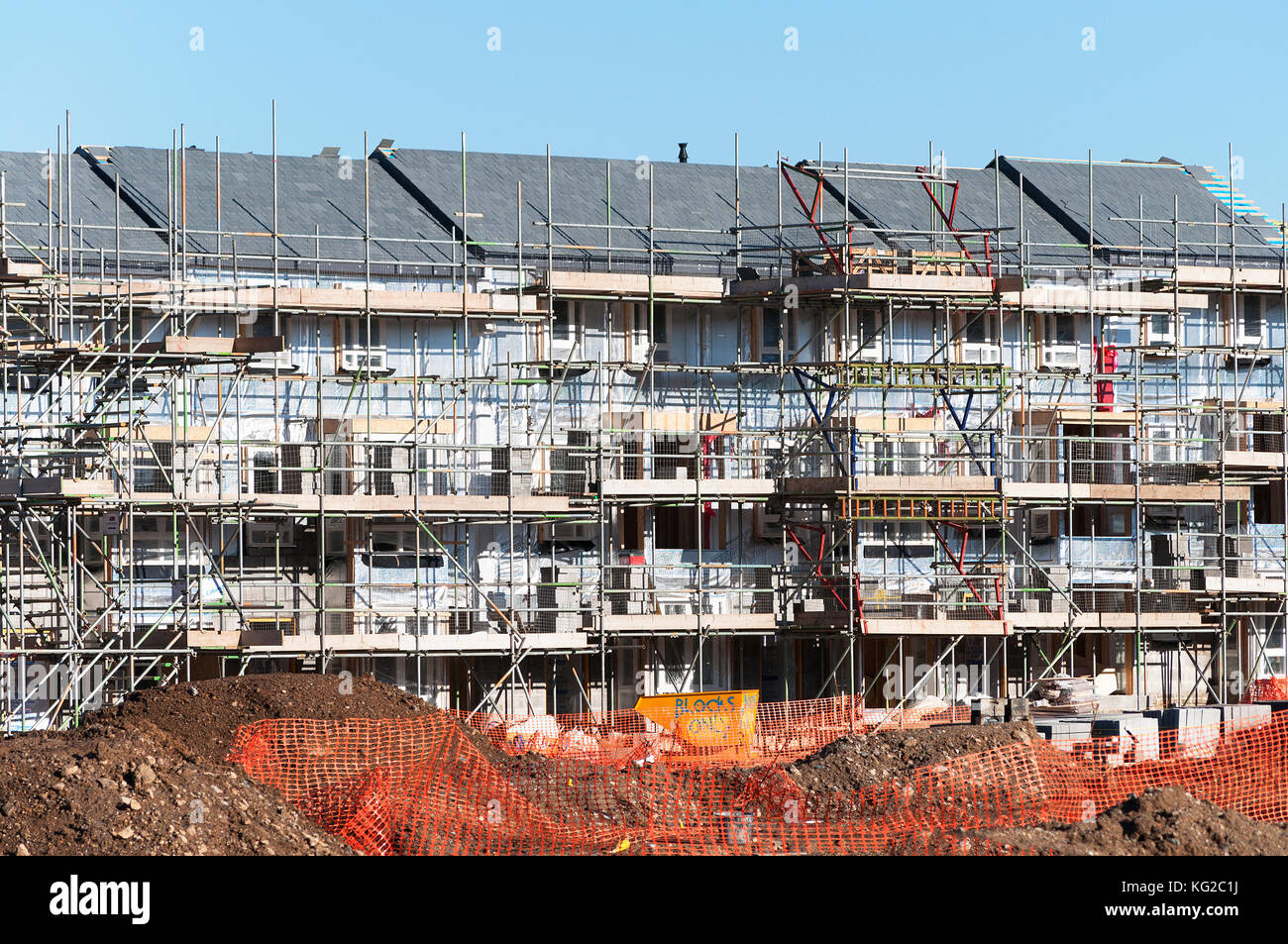 Uk construction industry stock photos uk construction for Affordable house construction