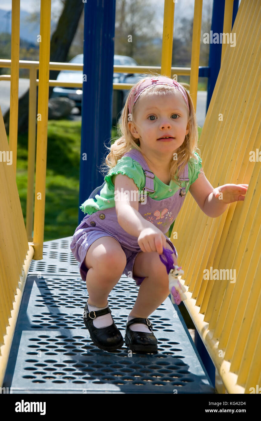 Four Year Two Year Community: 4 Year Old And Playground Stock Photos & 4 Year Old And