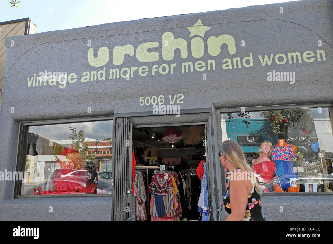 Vintage clothing stores in los angeles