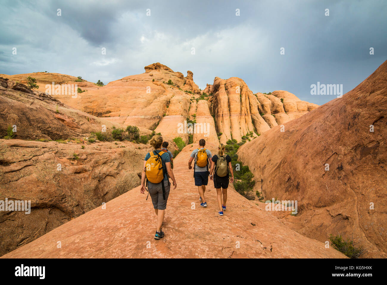 backpackers hit the turist trail