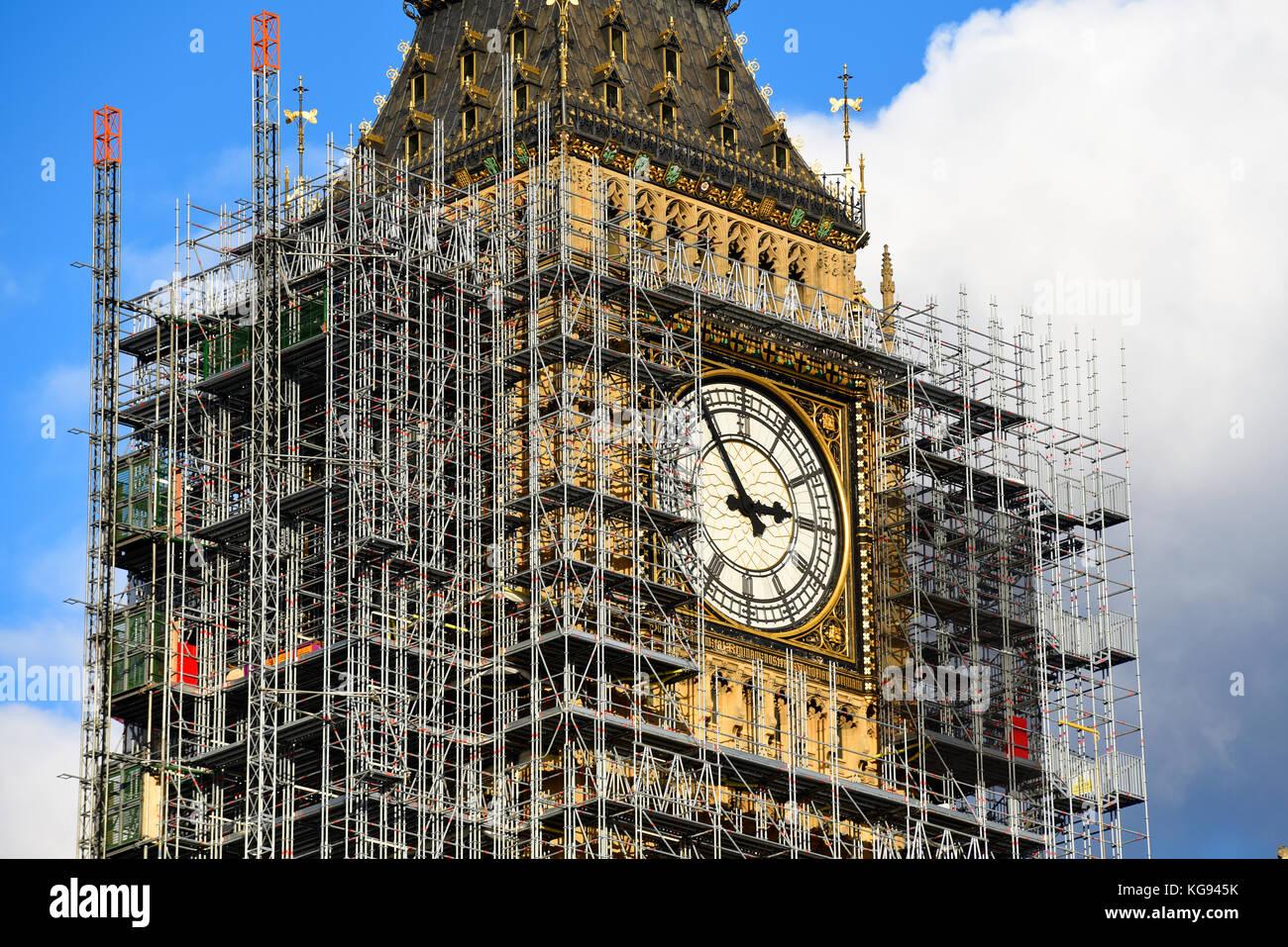 Clock Tower Renovation Stock Photos Amp Clock Tower