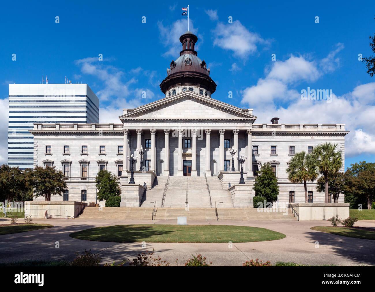 South carolina state capitol building stock photos south for The carolina house