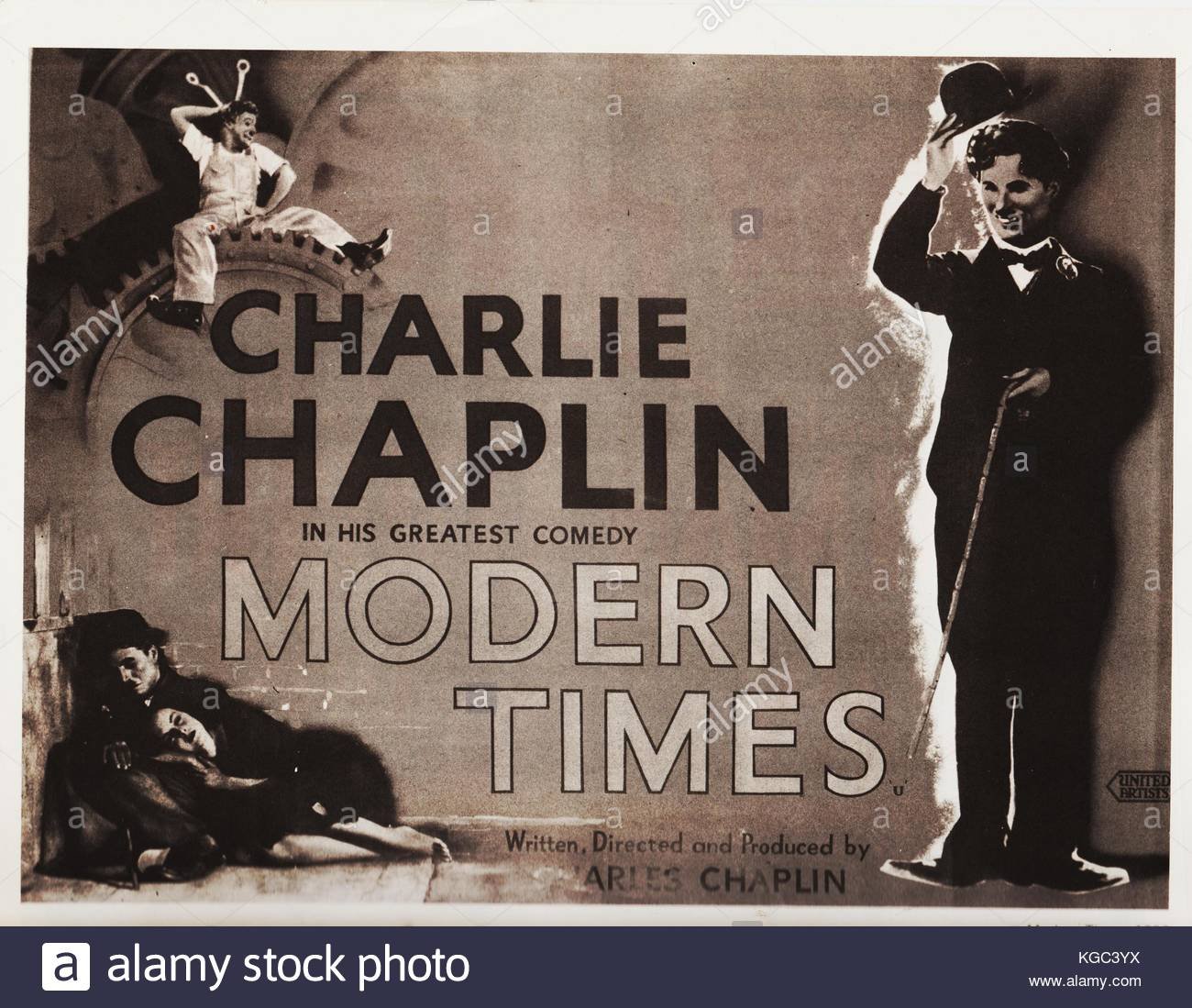 "charlie chaplins modern times movie analysis Major themes of ""modern times"" by chaplin  the american dream is also a prominent feature of the movie, chaplin's american dream was a small shack with a ."