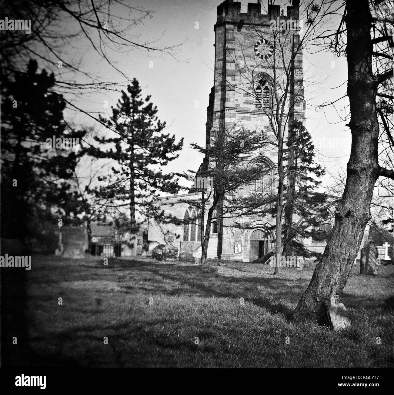Shropshire Historical images in the UK, photographs from another century.  Lost historical scenic's in 1900 - Stock Image