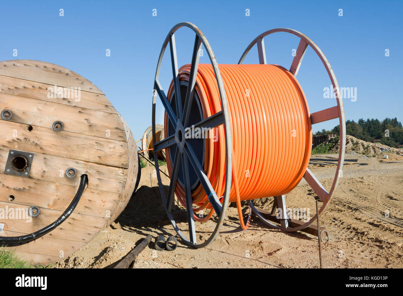 Cable Reel Stock Photos Amp Cable Reel Stock Images Alamy