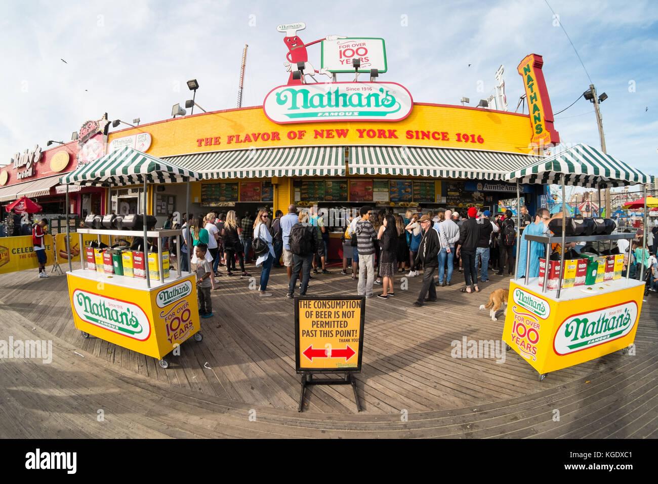 Coney Island Calories
