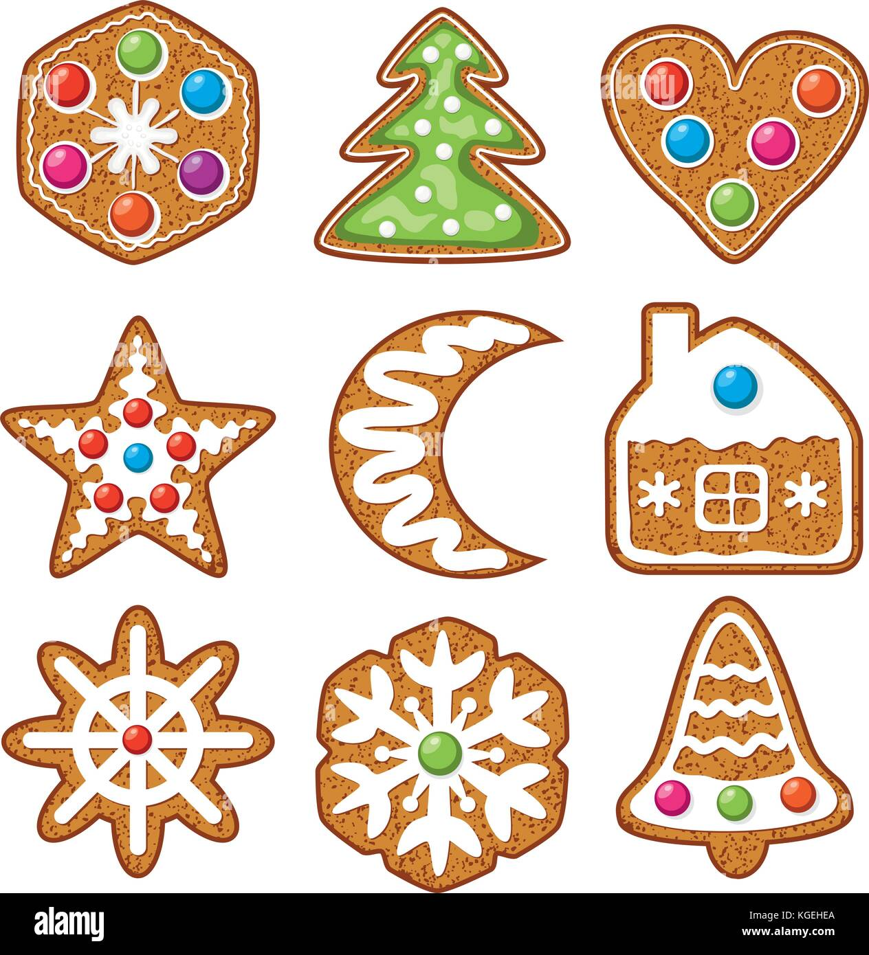 Hearts And Stars Kitchen Collection Cookie Vector Vectors Stock Photos Amp Cookie Vector Vectors