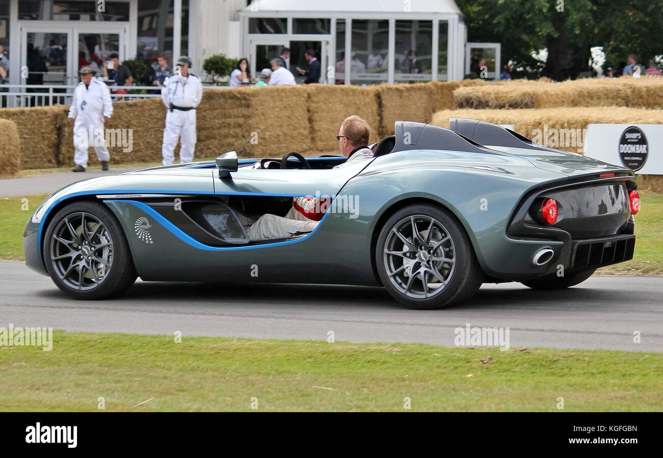 Aston Martin CC100 Concept Car at Goodwood Festival of Speed 2015 - Stock Image