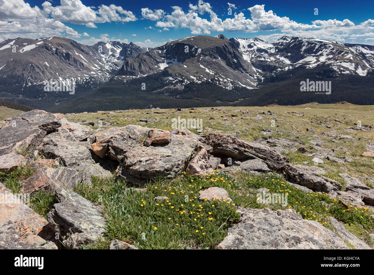 Rocky Mountain National Park, Colorado - Stock Image
