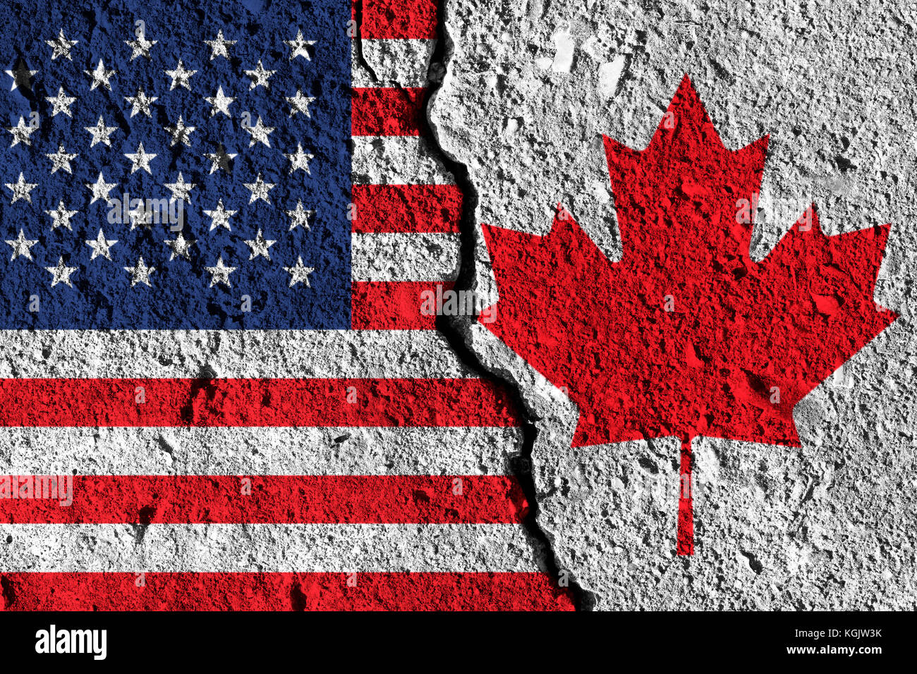 political relationship between canada and us