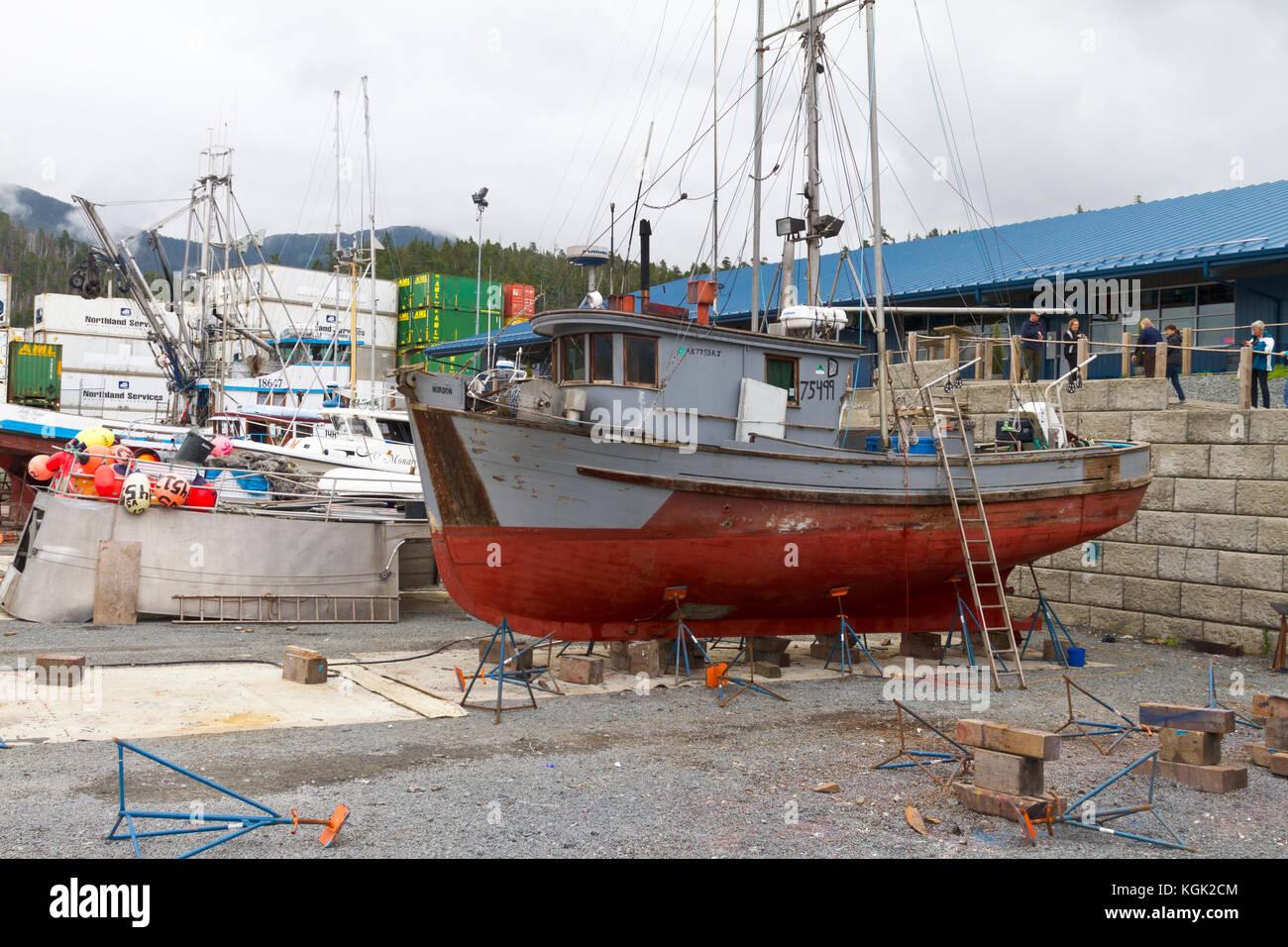 Alaska fishing boat stock photos alaska fishing boat for Alaska fishing boats