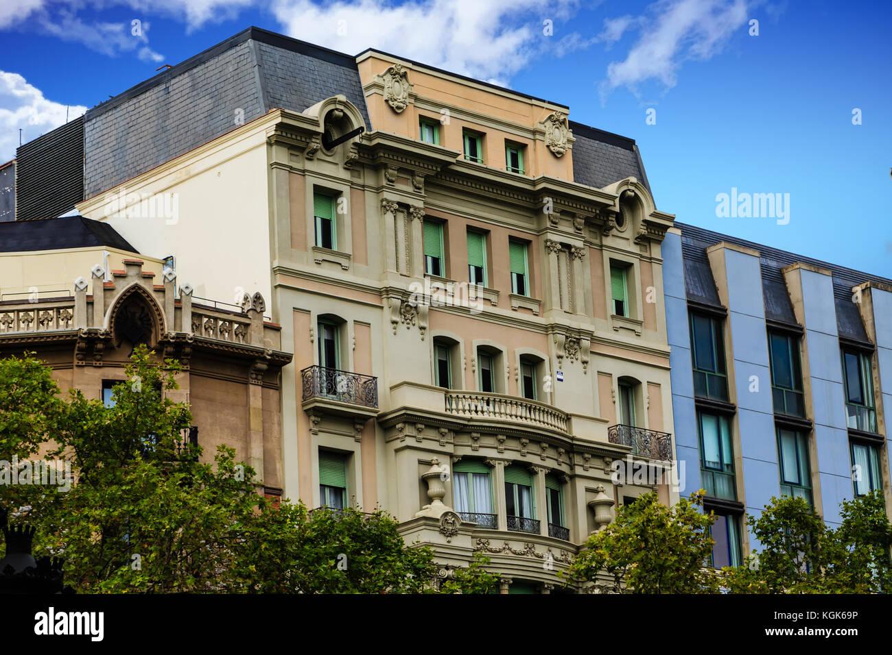 Apartments barcelona stock photos apartments barcelona for Barcelona apartment