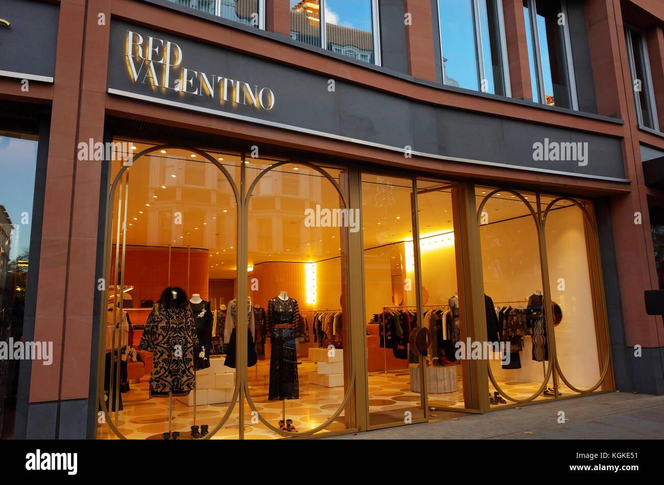 valentino store stock photos valentino store stock. Black Bedroom Furniture Sets. Home Design Ideas