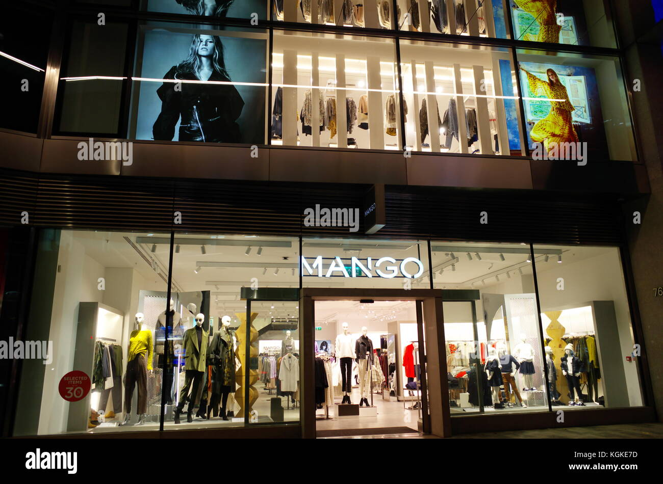 Mango clothes store