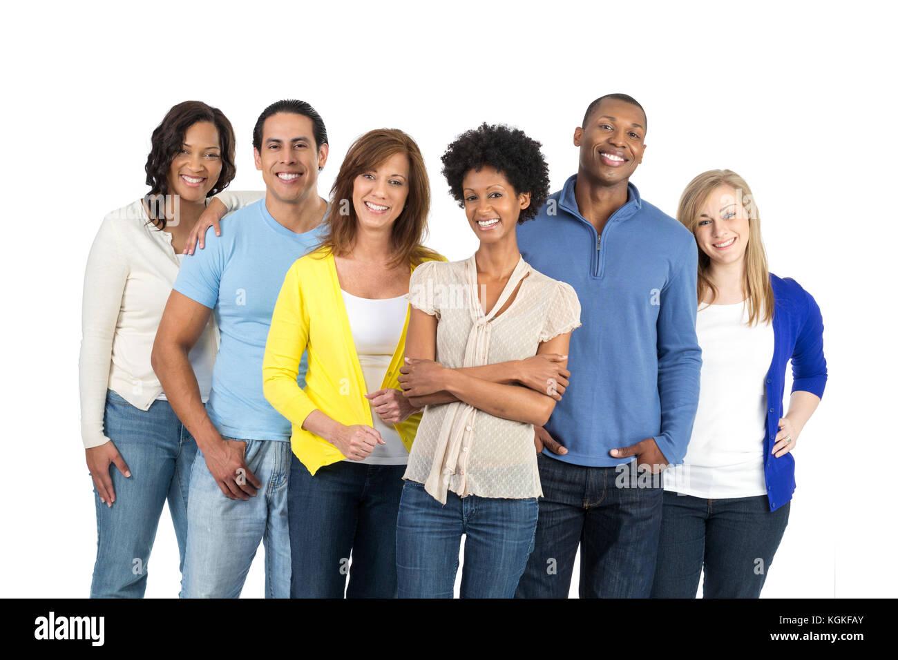 Large Family Portrait Hispanic Stock Photos & Large Family ...