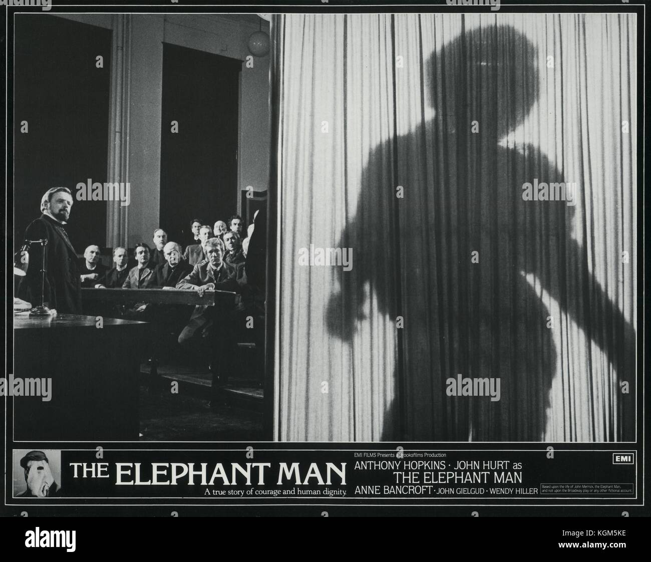 the discussion on human dignity in the story the elephant man