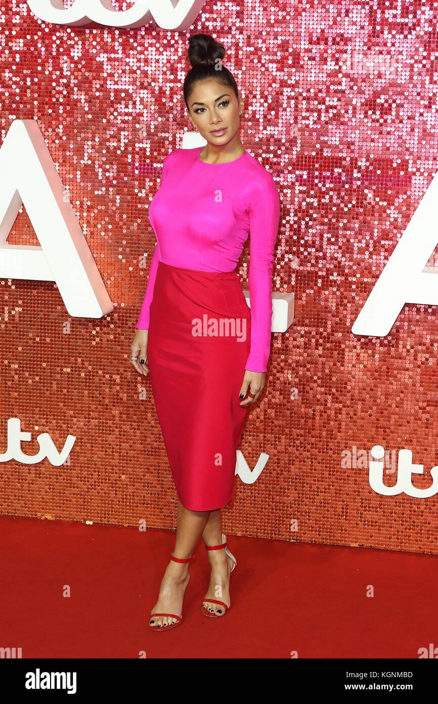 London, UK. 9th November, 2017. Nicole Scherzinger, ITV GALA, London Palladium, London, UK. 09th Nov, 2017. Photo - Stock Image