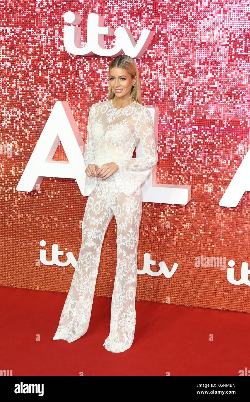 London, UK. 9th November, 2017. Olivia Attwood, ITV GALA, London Palladium, London, UK. 09th Nov, 2017. Photo by - Stock Image
