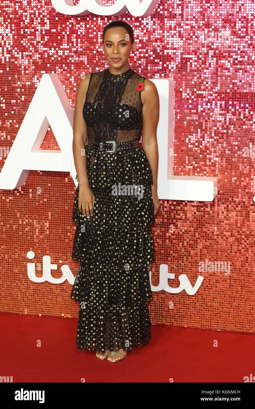London, UK. 9th November, 2017. Rochelle Humes, ITV GALA, London Palladium, London, UK. 09th Nov, 2017. Photo by - Stock Image