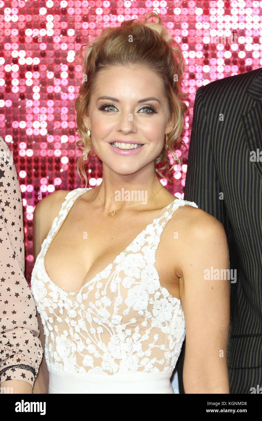 London, UK. 9th November, 2017. Stephanie Waring, ITV GALA, London Palladium, London, UK. 09th Nov, 2017. Photo - Stock Image