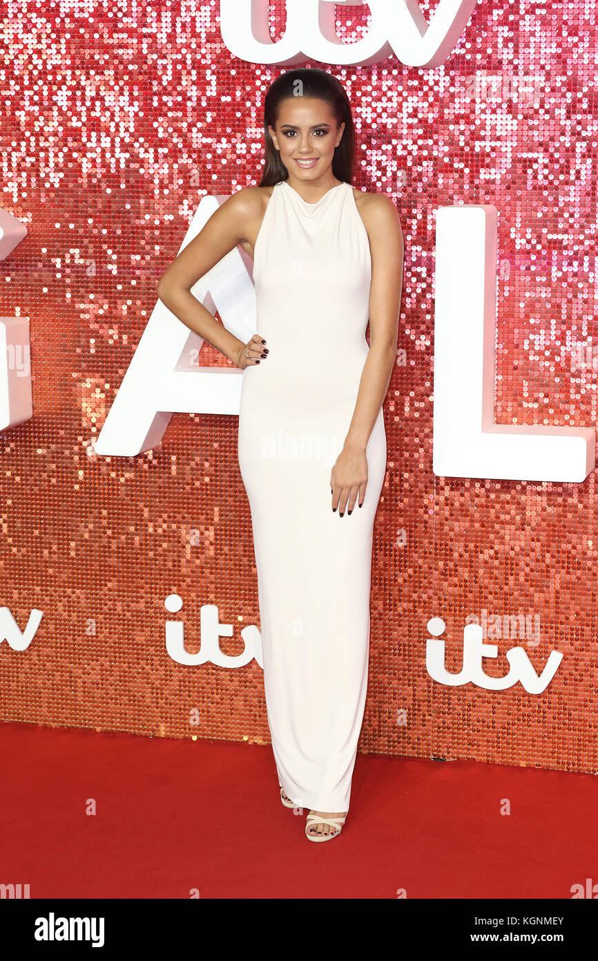 London, UK. 9th November, 2017. Tyla Carr, ITV GALA, London Palladium, London, UK. 09th Nov, 2017. Photo by Richard - Stock Image
