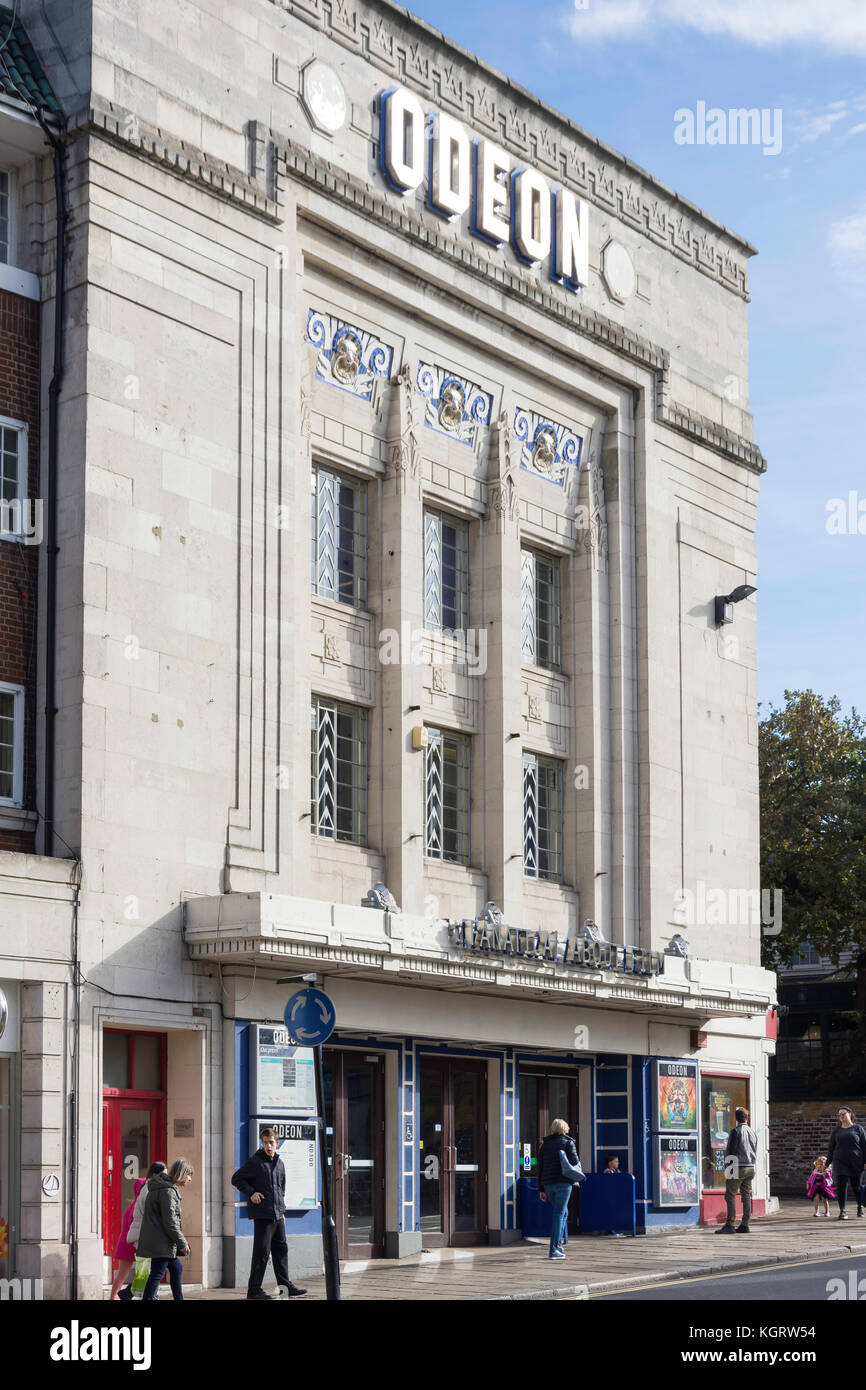 Richmond Odeon Cinema, Hill Street, Richmond, London Borough of Richmond upon Thames, Greater London, England, United - Stock Image