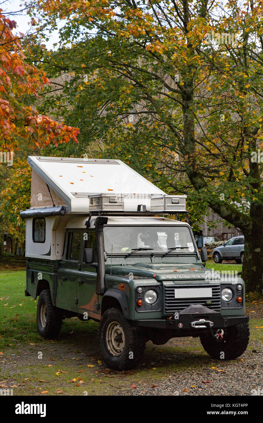 Conversion Van Camping >> 4x4 Camper Stock Photos & 4x4 Camper Stock Images - Alamy