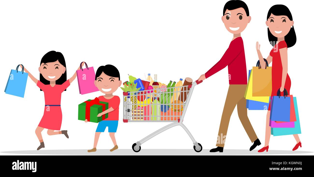 Woman Shopping Supermarket Christmas Stock Photos Amp Woman