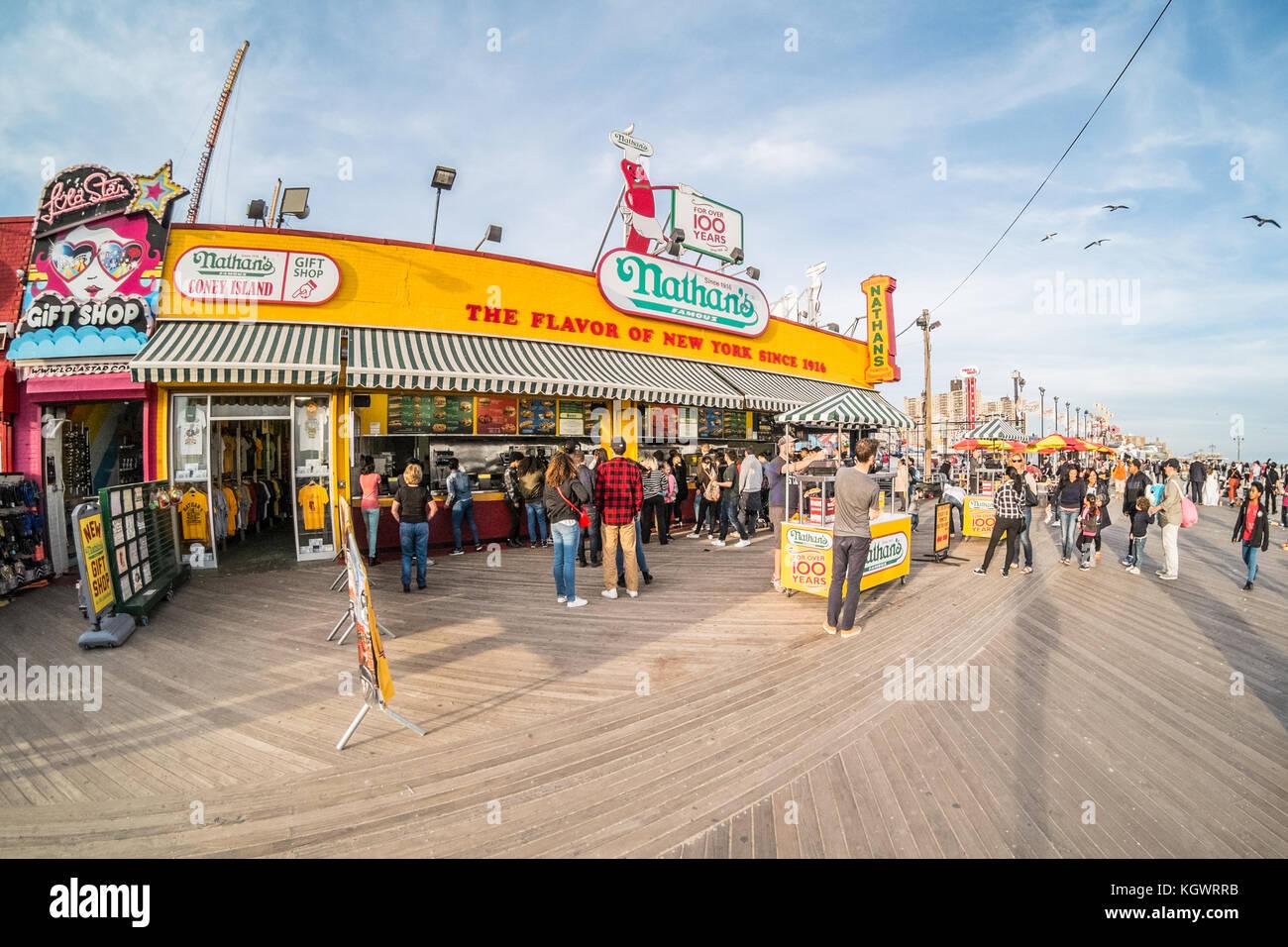 Coney Island Hot Dogs Miami Restaurant