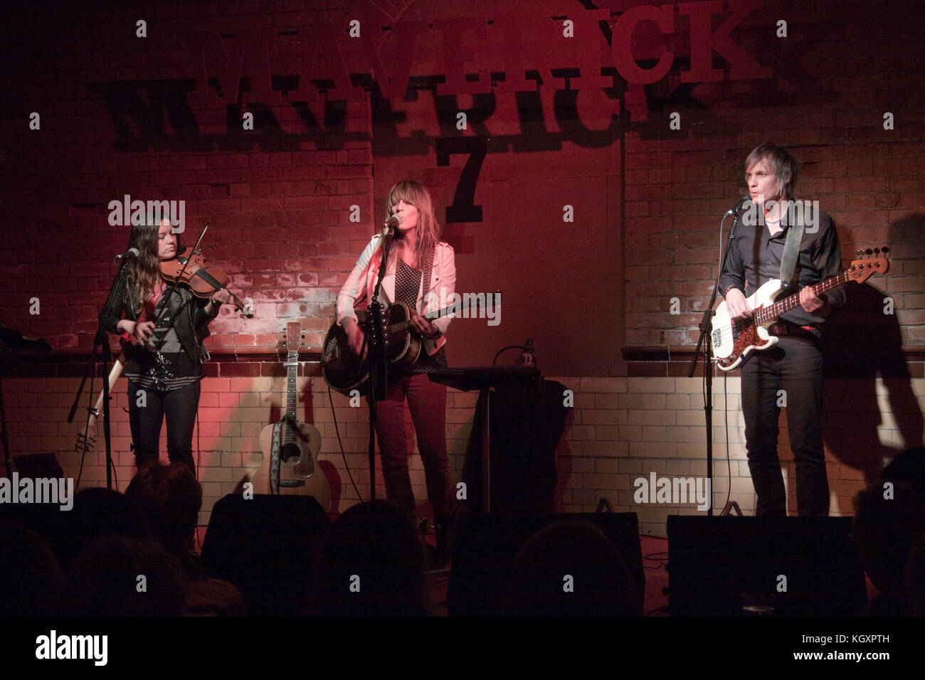 Americana band Madison Violet - Stock Image