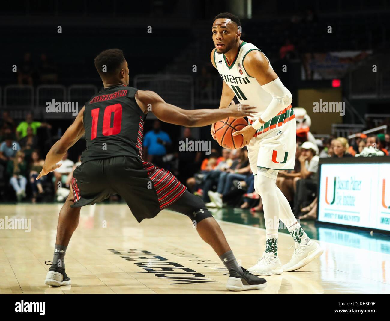 Nate Johnson Basketball Miami Beach