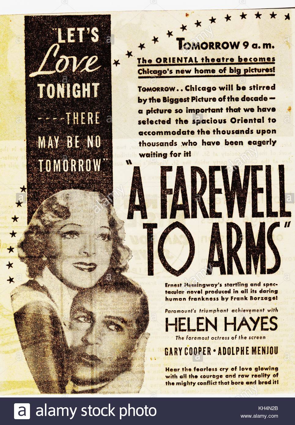 the typical love story as illustrated in ernest hemingways a farewell to arms A farewell to arms: during the course of the story, frederic's ideas about love are influenced not only by his growing a farewell to arms hemingway ernest.