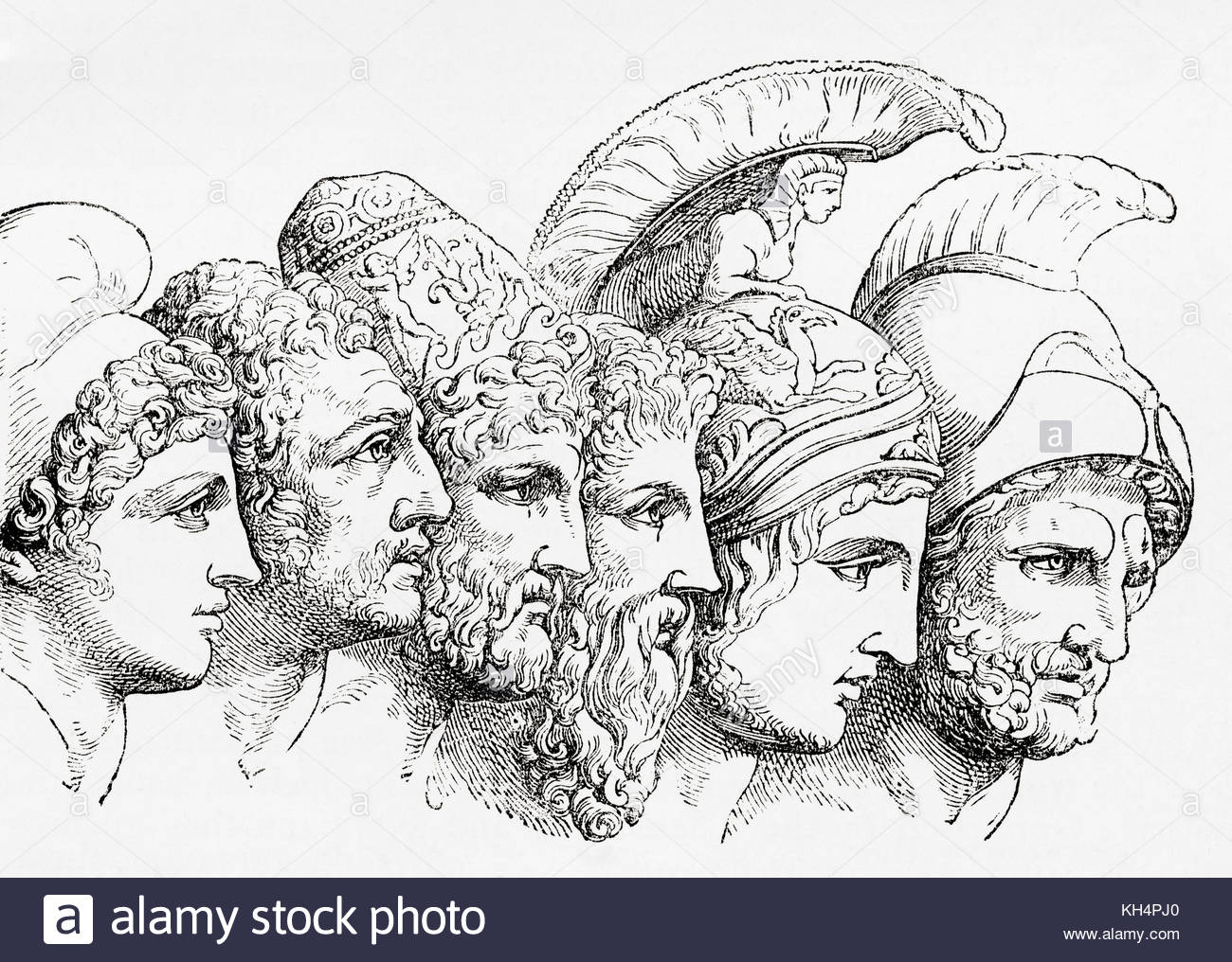 Suitors of Helen in Greek Mythology