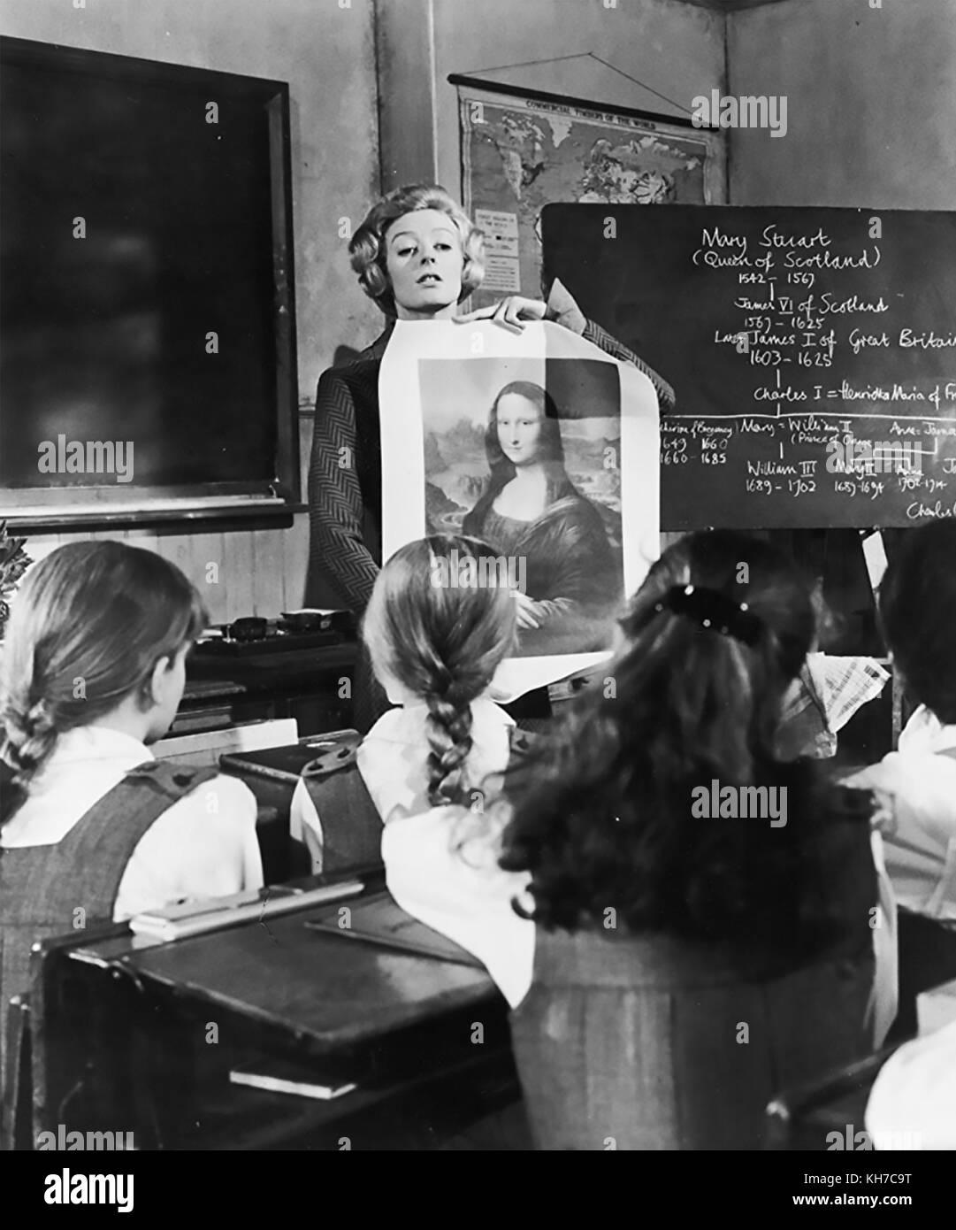 THE PRIME OF MISS JEAN BRODIE 1969 Twentieth Century Fox film with Maggie Smith - Stock Image