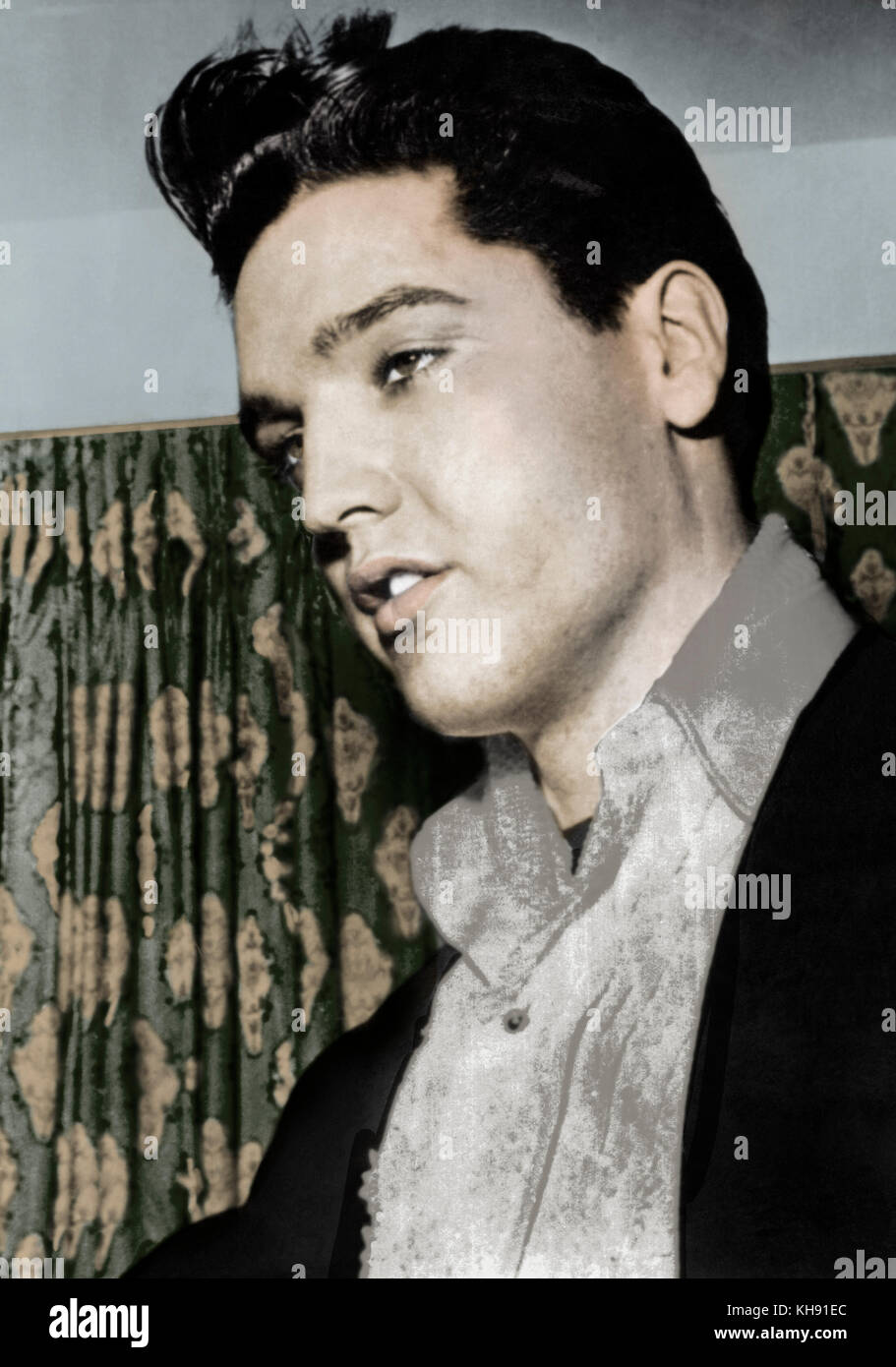 American Singer & Actor Elvis Presley – Biography and Life Story