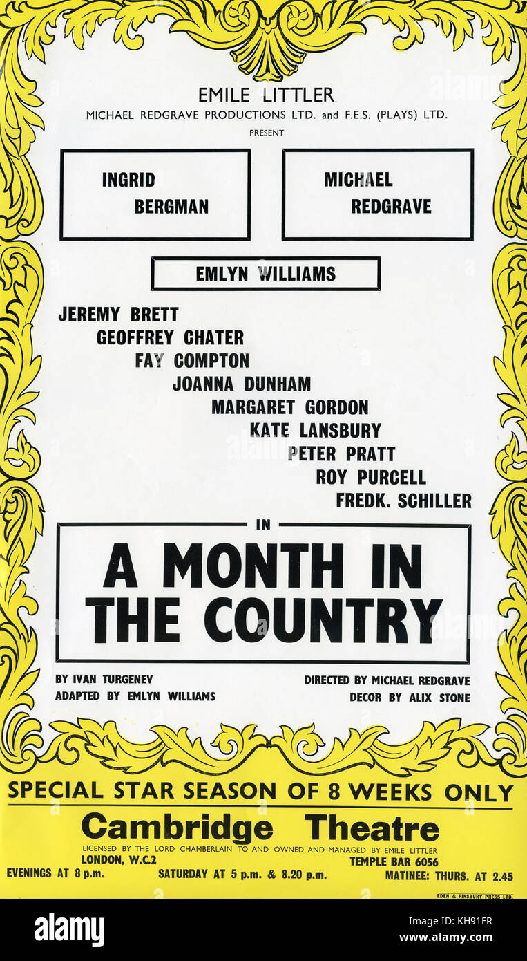 a month in the country play pdf