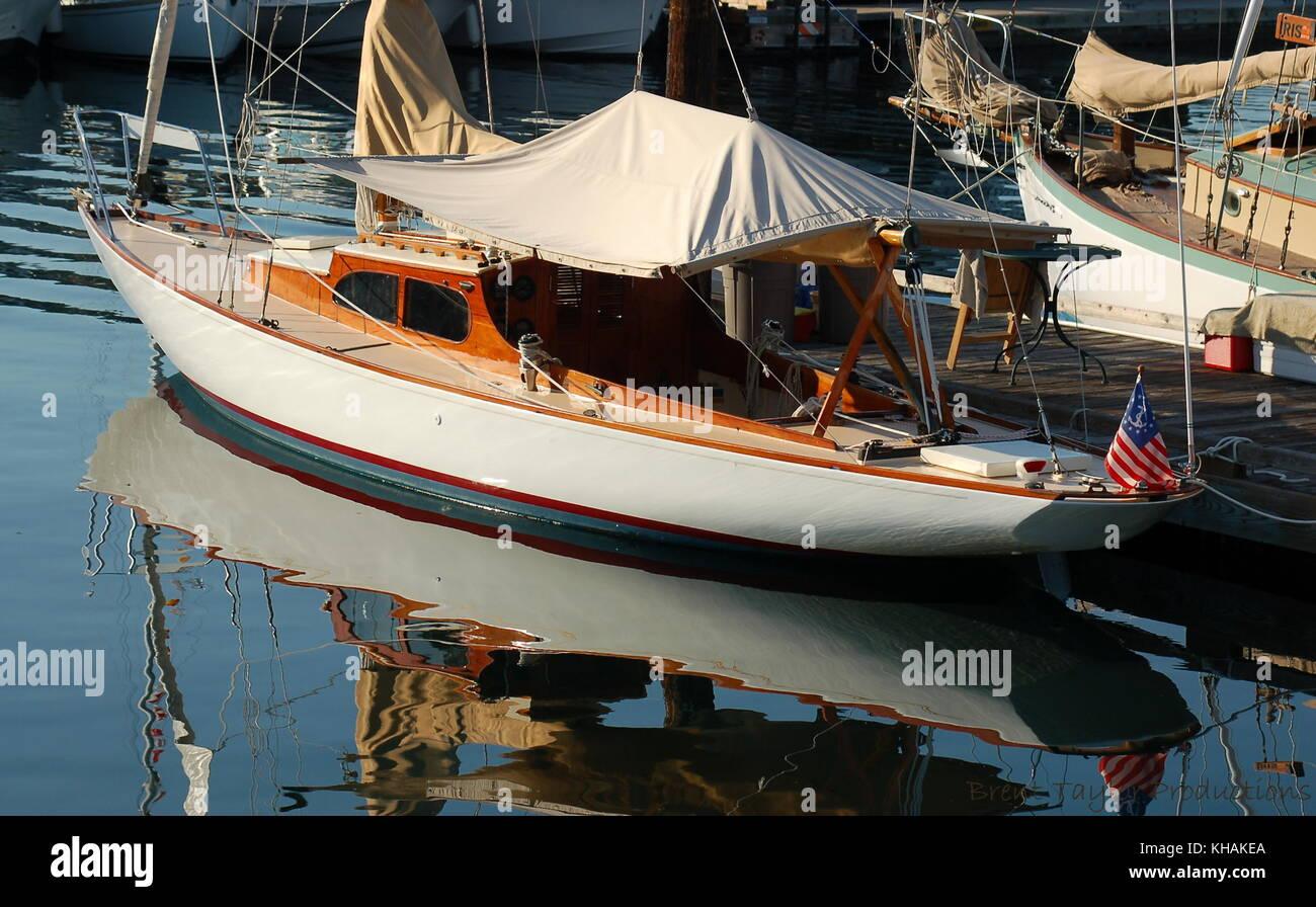 Charter fishing boat harbor stock photos charter fishing for San juan island fishing charters