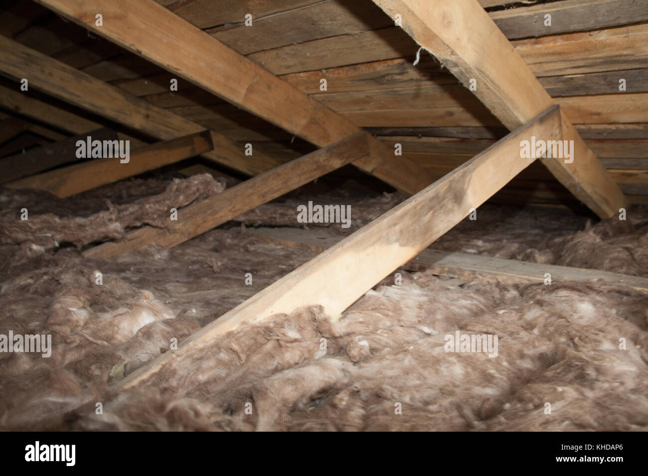 Roof insulation stock photos roof insulation stock for New home insulation